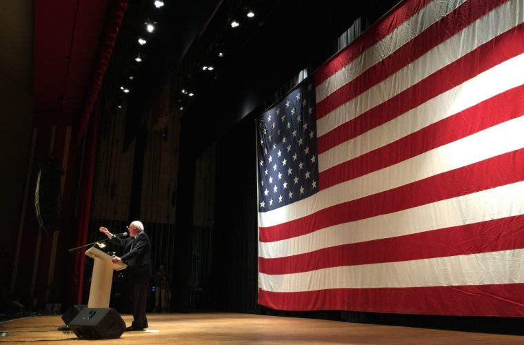 Sanders takes on Trump at West Virginia book tour stop, says he'll be back to McDowell County
