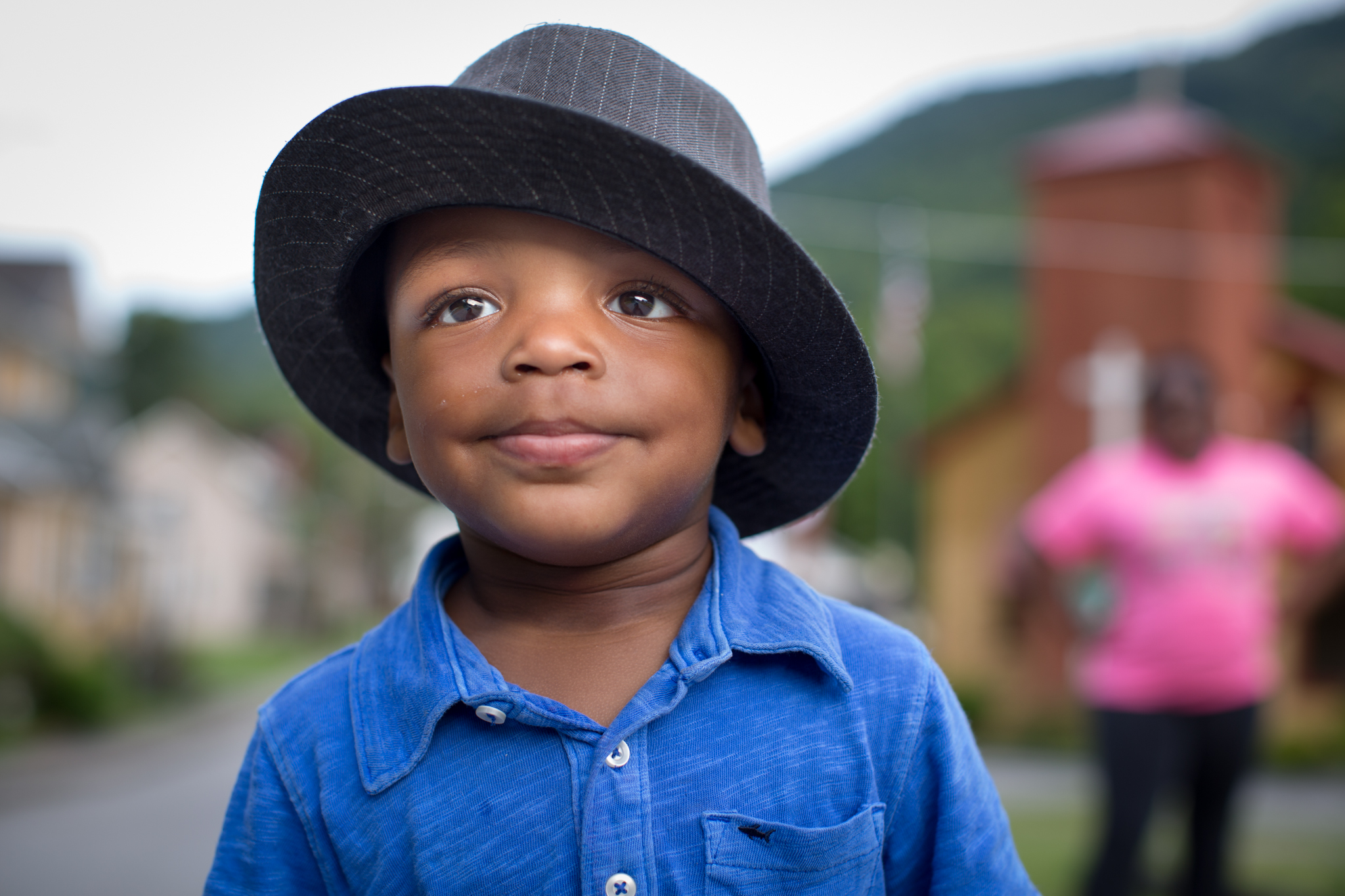 "Jakari Tinsley, age 2, lives in Lynch, Kentucky. His favorite word is ""No."" Photo by Nancy Andrews"