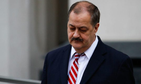 Former CEO Who Went to Prison, Don Blankenship, Running for U.S. Senate