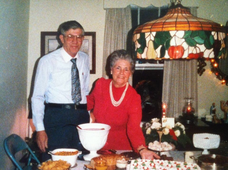 Photo of Russell and Betty Williams.