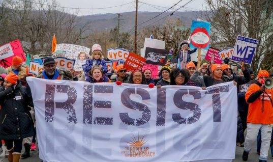 'No Hate in my Holler' March a Window into West Virginia's Political Divide