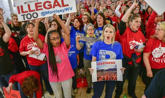 Not Just Red vs Blue: What the Teacher Strike May Reveal About West Virginia's Political Landscape