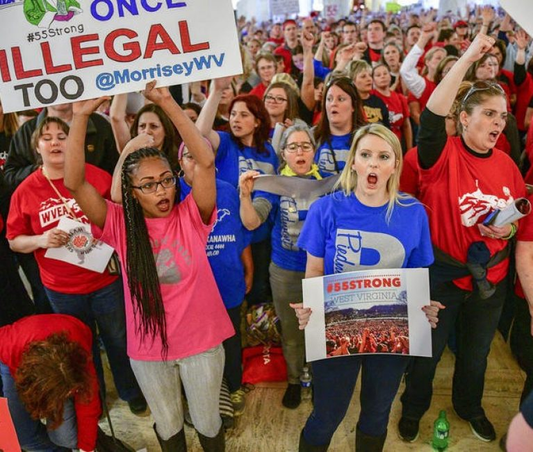 Not Just Red vs Blue: What the Teacher Strike May Reveal About W.Va.'s Political Landscape