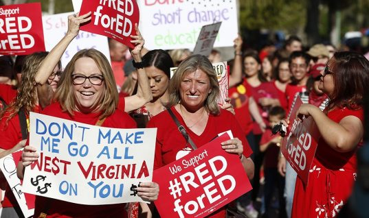 Lesson Learned: Teachers Across the Country Follow West Virginia's Lead