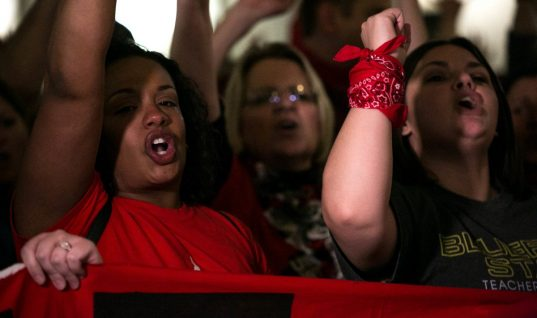Teachable Moment: What Teacher Protests Portend For Schools, Labor And Elections
