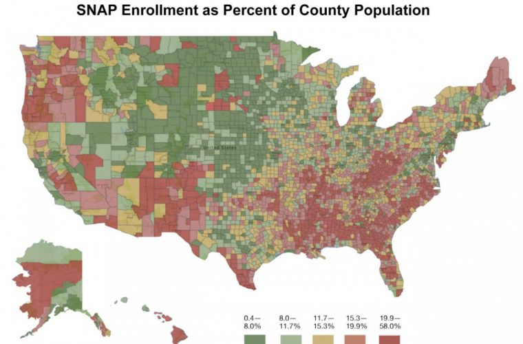 The Geography of Food Stamps