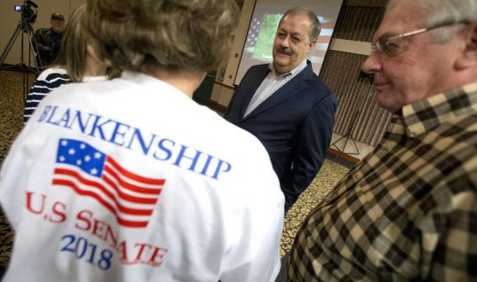 Former Coal Company CEO Don Blankenship Polarizes GOP Primary Electorate in Southern W.Va.