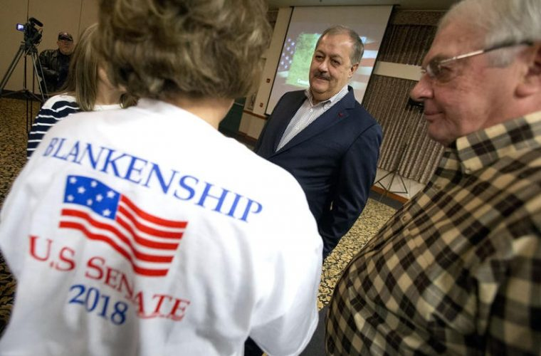 Former Coal Company CEO Don Blankenship Polarizes GOP Primary Electorate in Southern WV