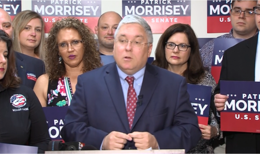 Two Days Before Election Day, Morrisey Calls Out Blankenship for 'Ongoing' Legal Issues