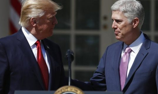 Did Patrick Morrisey's Family Firm Lobby Against Gorsuch Confirmation?