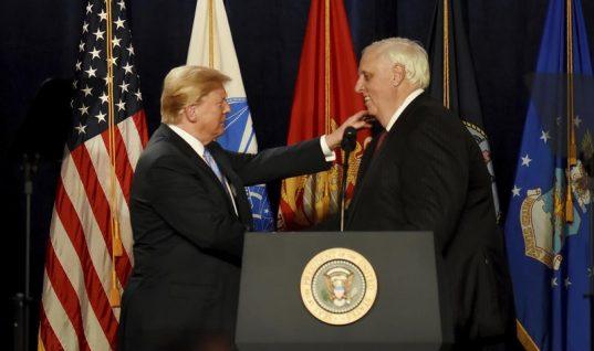 Trump Boosts GOP Senate Candidate, Knocks Media During WV Speech