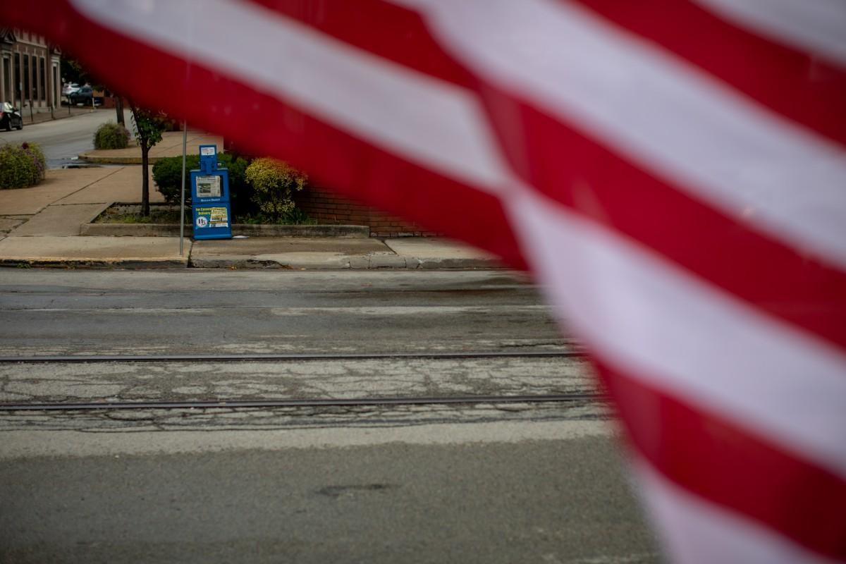 Uniontown, Pennsylvania. Photo: David Smith/100 Days in Appalachia