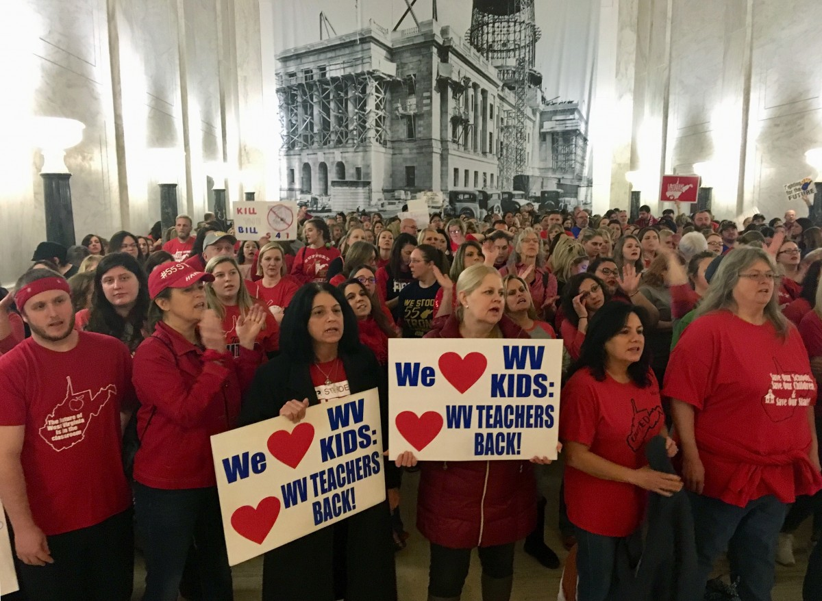 W Va  Teacher: We Went on Strike to Fight Retaliation, Not Reform