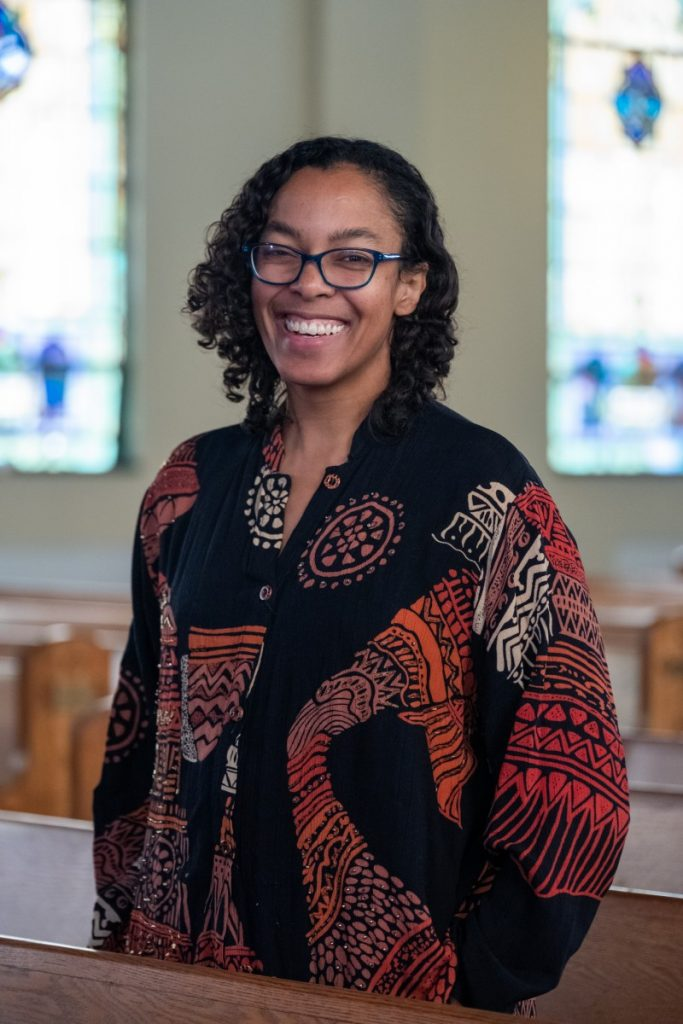 Dr. Raina León has been helping her mother to find funding and support for her collection of Black history in Uniontown, Pennsylvania. Photo: Justin Hayhurst/100 Days in Appalachia
