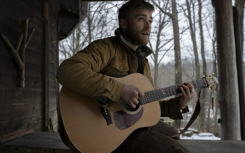 Brett Hill attended Belarusian musician and activist Siarhei Douhushau first American show at a small bar in Athens, Ohio, in March 2019, which was the start of a music collaboration that has now reached across an ocean during a global pandemic. Photo: Char Reich/100 Days in Appalachia