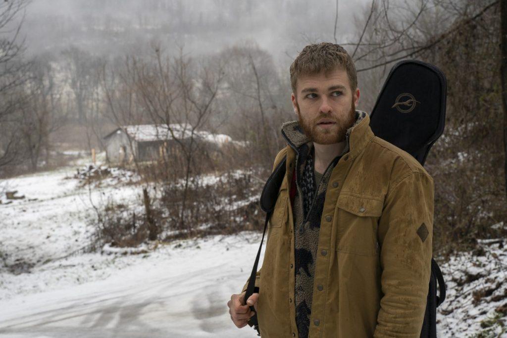 Brett Hills is the frontman of Hill Spirits, an Appalachian folk band based in southwestern Ohio. Photo: Chad Reich/100 Days in Appalachia