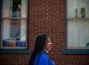 Jala Rucker is a community health worker in Pittsburgh, Pennsylvania, working with patients in her northside neighborhood of Manchester through Project Destiny. Photo: David Smith/100 Days in Appalachia