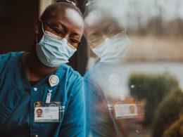 Lillian Amanaka has worked at Hospice of the Panhandle in Kearneysville, West Virginia, for two years and currently works in the access department. Photo: Molly Humphreys/Healthcare is Human