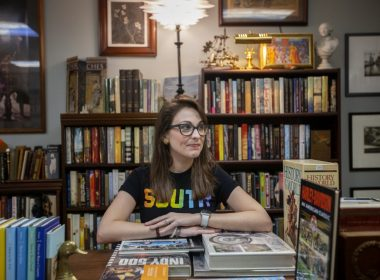 Kendra Winchester is the founder of the Bookstagram account @readappalachia. Photo: Gavin McIntyre/100 Days in Appalachia