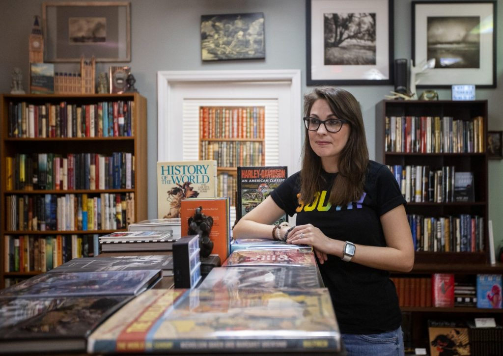 @readappalachia is Kendra Winchester's way of trying to help Appalachians tell their own stories. Photo: Gavin McIntyre/100 Days in Appalachia