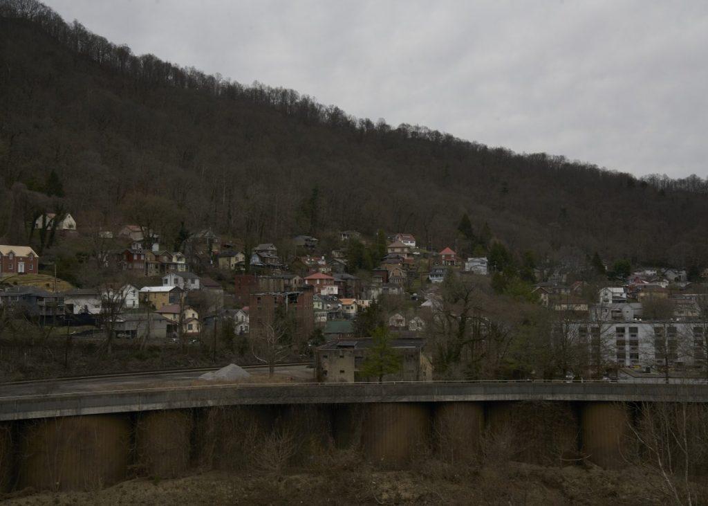 Downtown Williamson, West Virginia. Photo: Stacy Kranitz/100 Days in Appalachia