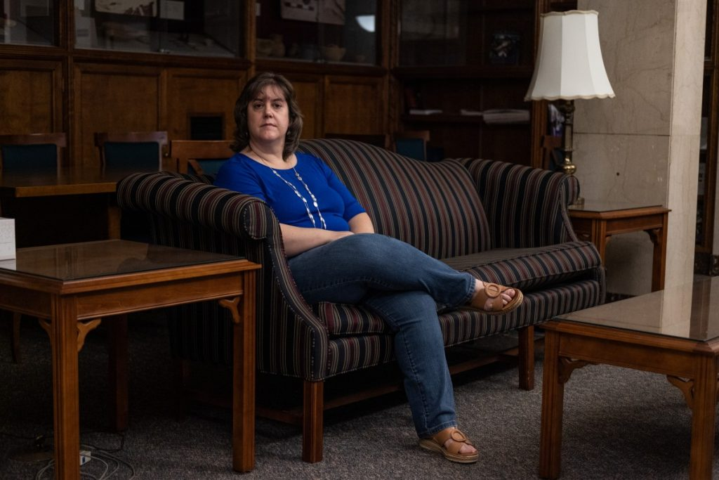 Dr. Leanna K. Fuller is the Dean of Faculty for Pittsburgh Theological Seminary in Pittsburgh, Pennsylvania. Over the past year, she has helped lead an institution wide reckoning with racism in faith communities. Photo: Chris Jones/100 Days in Appalachia
