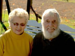 Summer's grandparents, Juanita and Clee Conley. Photo: Provided