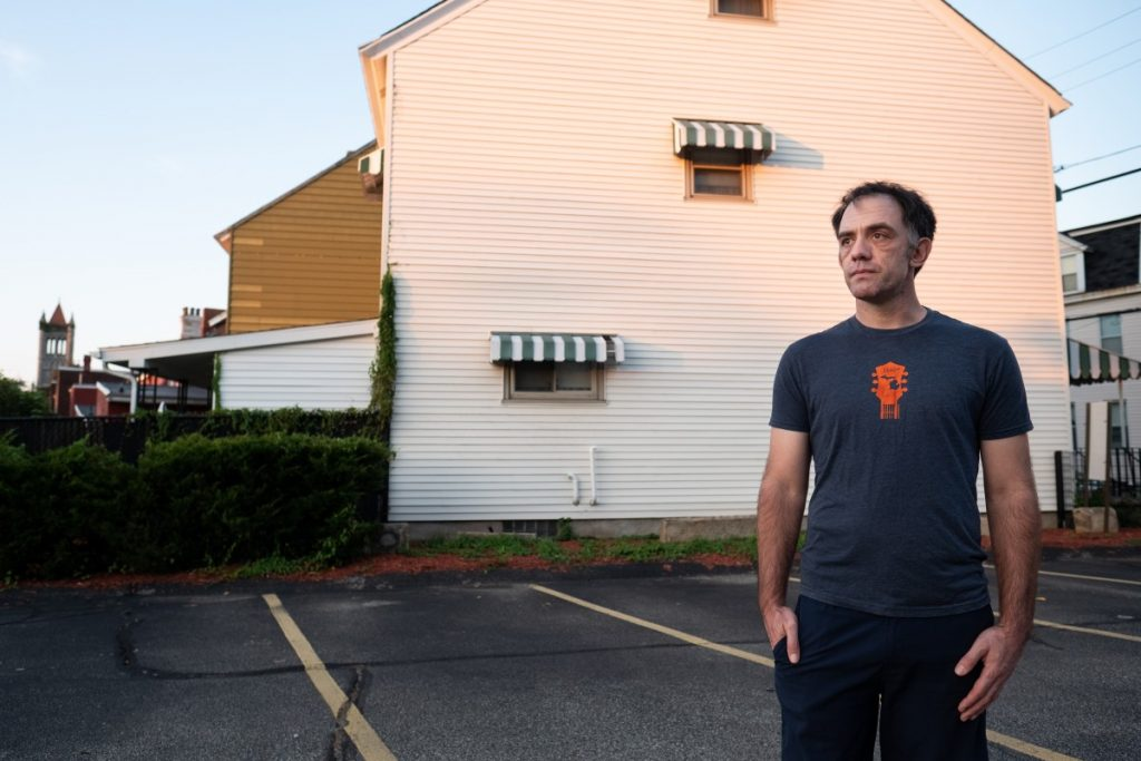 Ben Gwin helped organize temporary and contract workers at Pittsburgh's Google location after a New York Times report revealed a majority of the company's workers were outsourced and, therefore, didn't receive full employee benefits. Photo: Justin Hayhurst/100 Days in Appalachia